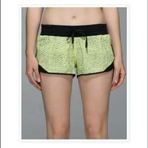 Lululemon Run speed shorts size 2